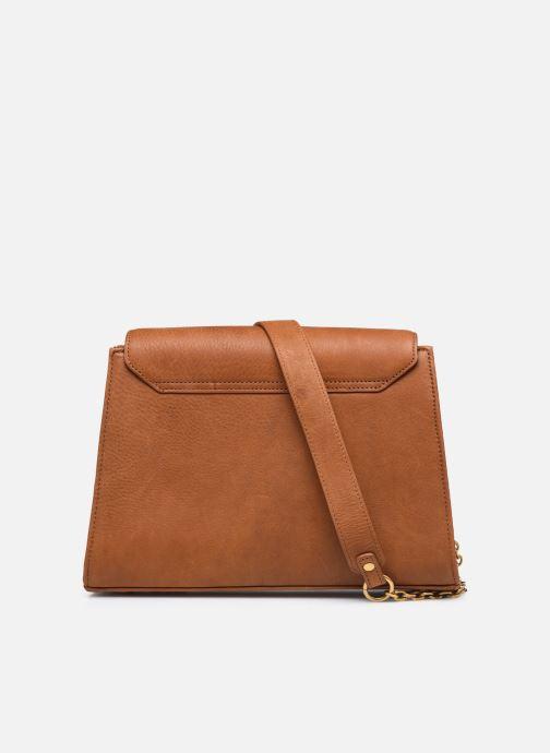 Handtaschen Nat & Nin ENORA braun ansicht von vorne