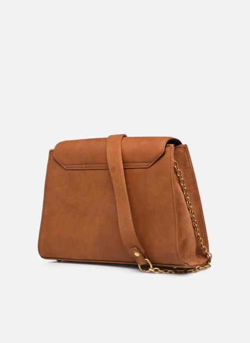 Handtaschen Nat & Nin ENORA braun ansicht von rechts