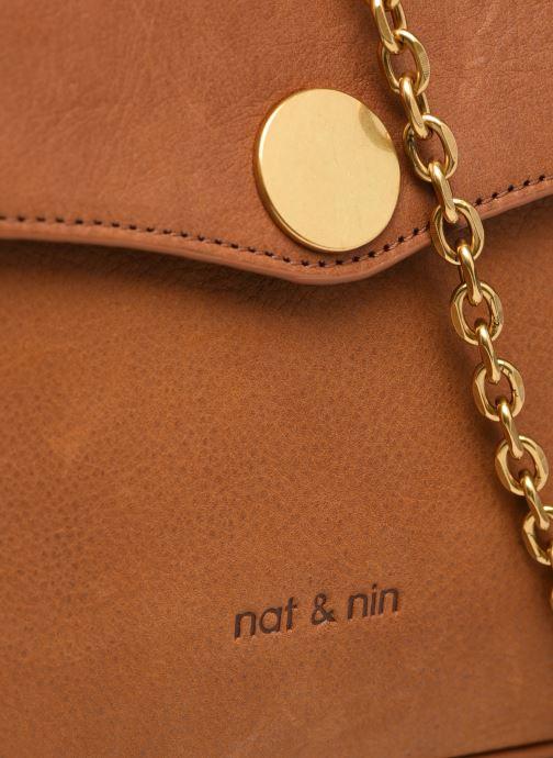 Handtaschen Nat & Nin ENORA braun ansicht von links