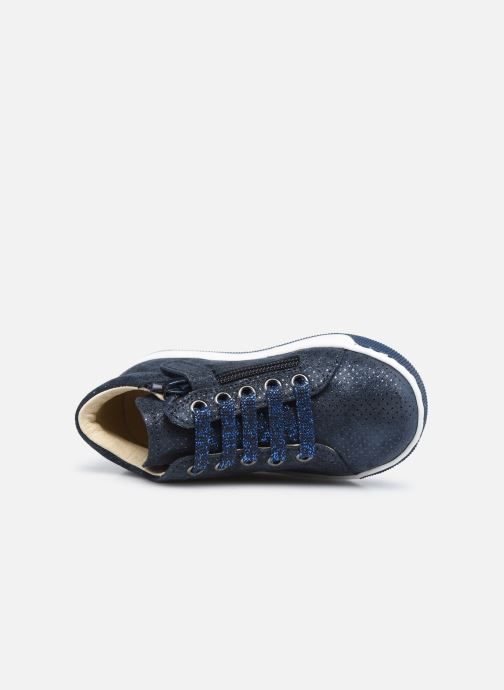 Stiefeletten & Boots Naturino Jay Zip blau ansicht von links