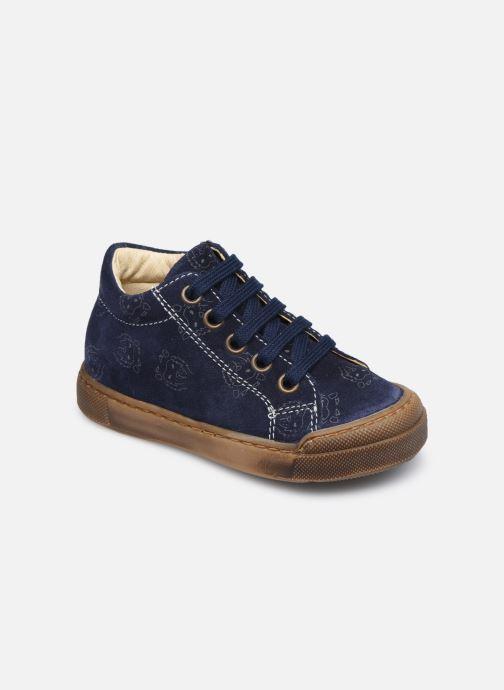 Sneakers Naturino Snopes Zip Blauw detail