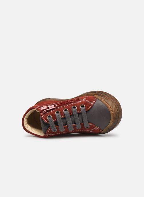 Sneaker Naturino Snopes Zip rot ansicht von links