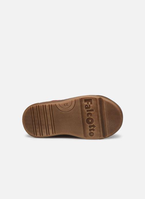 Sneaker Naturino Snopes Zip rot ansicht von oben
