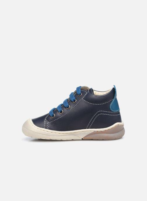 Bottines et boots Naturino Punky Bleu vue face
