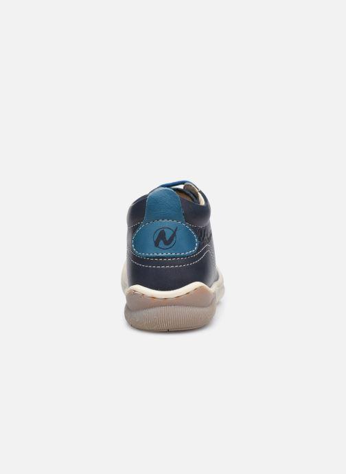 Bottines et boots Naturino Punky Bleu vue droite