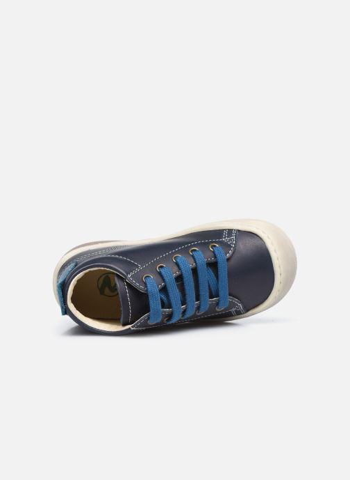 Bottines et boots Naturino Punky Bleu vue gauche