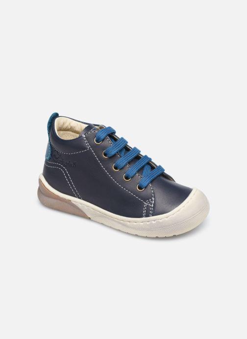 Bottines et boots Naturino Punky Bleu vue détail/paire
