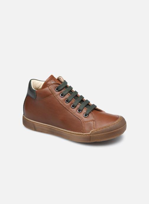 Sneaker Naturino Lovan Zip braun detaillierte ansicht/modell