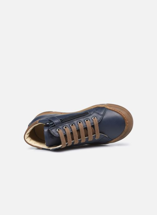 Sneakers Naturino Lovan Zip Blauw links