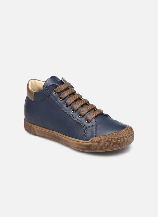 Sneaker Naturino Lovan Zip blau detaillierte ansicht/modell