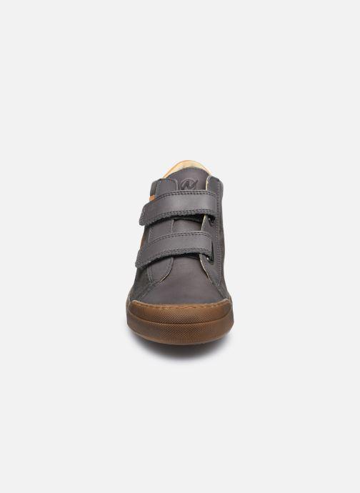 Baskets Naturino Heist VL Gris vue portées chaussures