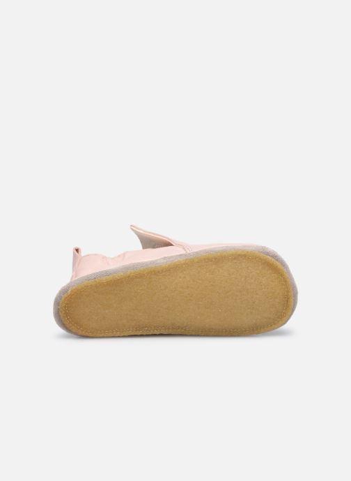 Pantofole Naturino Plumard Piuma Rosa immagine dall'alto