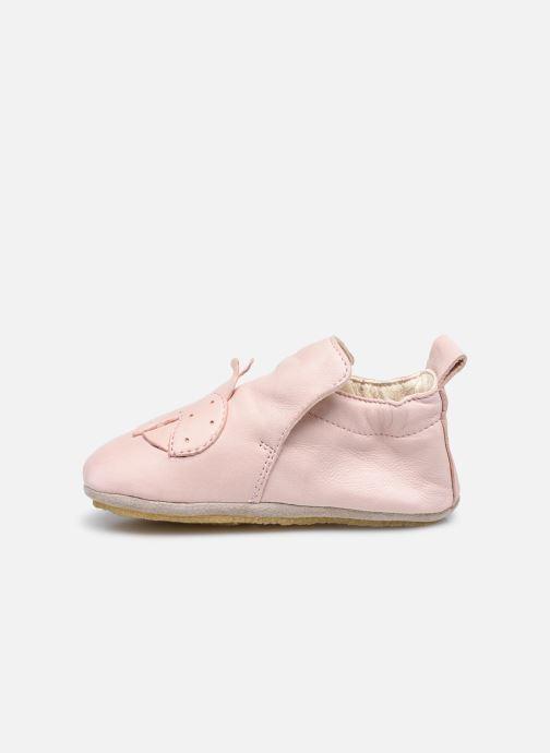 Pantofole Naturino Dlon Piuma Rosa immagine frontale