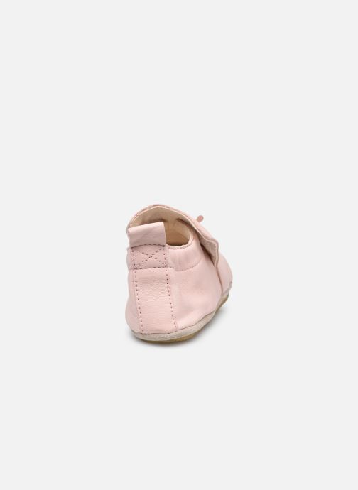 Pantofole Naturino Dlon Piuma Rosa immagine destra