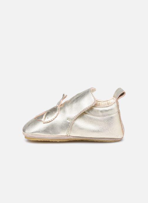 Pantofole Naturino Dlon Piuma Oro e bronzo immagine frontale