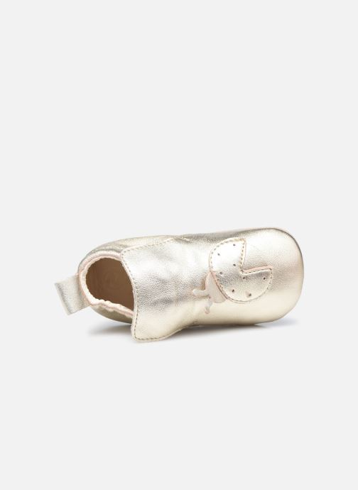 Pantofole Naturino Dlon Piuma Oro e bronzo immagine sinistra