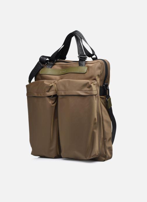 Bolsos de hombre Antonyme by Nat & Nin CALEB Cabas poches Verde vista del modelo