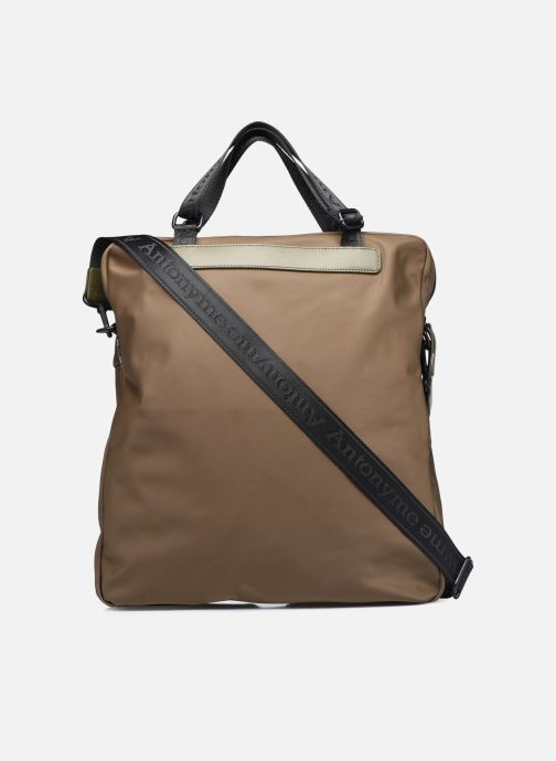 Sacs homme Antonyme by Nat & Nin CALEB Cabas poches Vert vue face