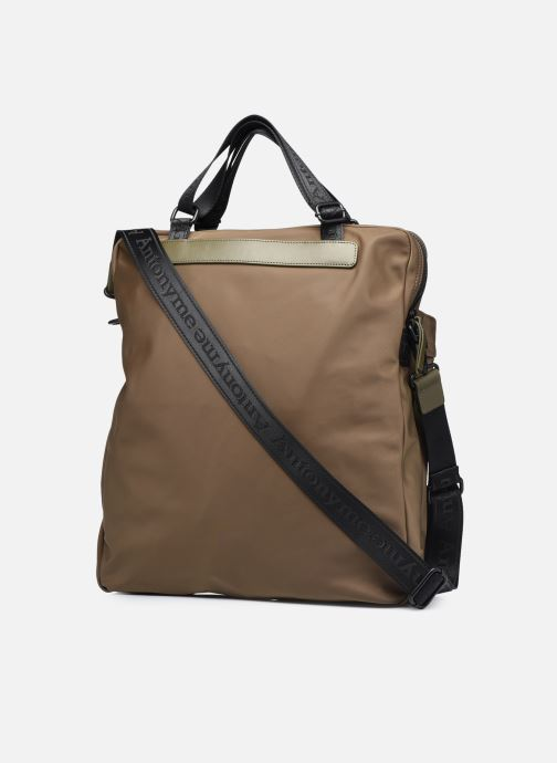 Sacs homme Antonyme by Nat & Nin CALEB Cabas poches Vert vue droite