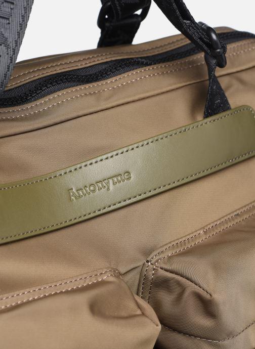 Bolsos de hombre Antonyme by Nat & Nin CALEB Cabas poches Verde vista lateral izquierda
