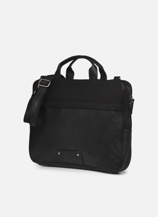 Laptoptaschen Antonyme by Nat & Nin EMILE Briefcase Toile schwarz schuhe getragen