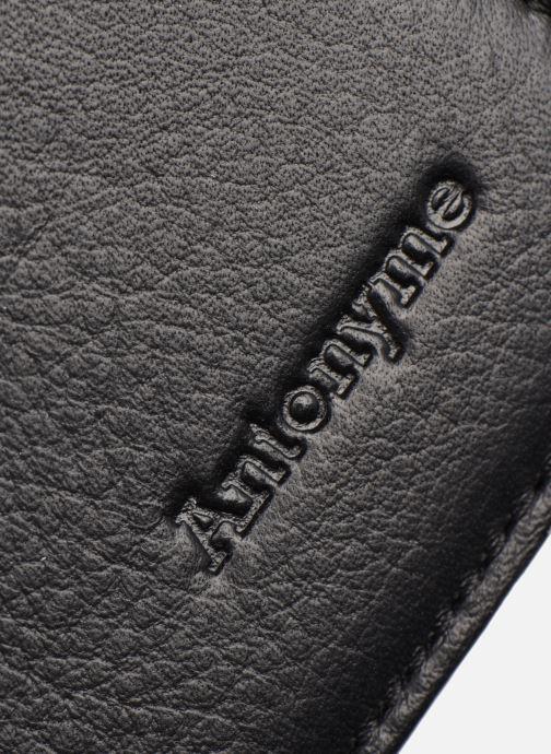 Petite Maroquinerie Antonyme by Nat & Nin CONOR Portefeuille Noir vue gauche