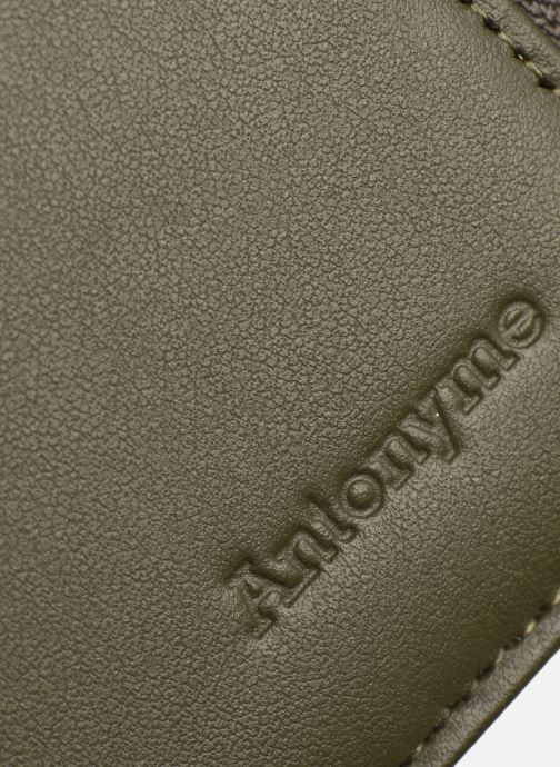 Portemonnaies & Clutches Antonyme by Nat & Nin CONOR Portefeuille grün ansicht von links