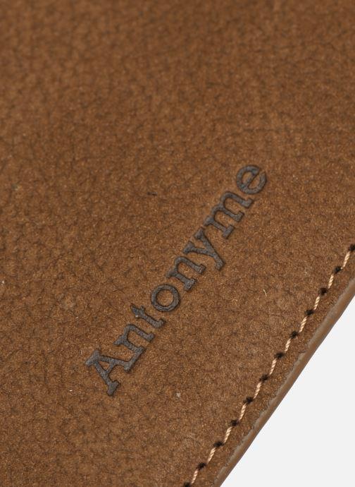 Portemonnaies & Clutches Antonyme by Nat & Nin ALEXIS Porte carte braun ansicht von links