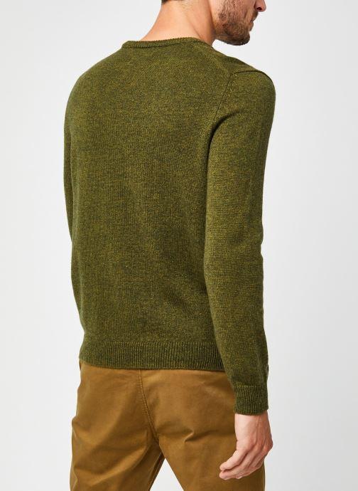 Vêtements Harris Wilson Pull Abel Vert vue portées chaussures