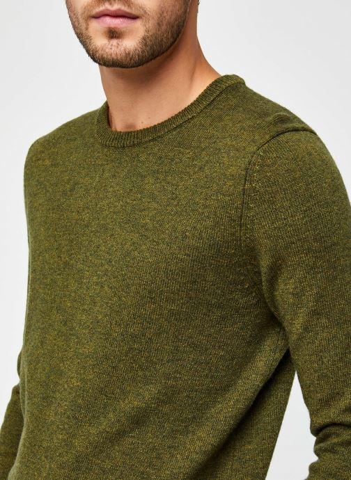 Vêtements Harris Wilson Pull Abel Vert vue face