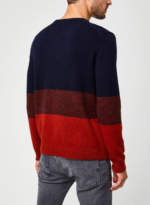 Vêtements Harris Wilson Pull Abertino Multicolore vue portées chaussures