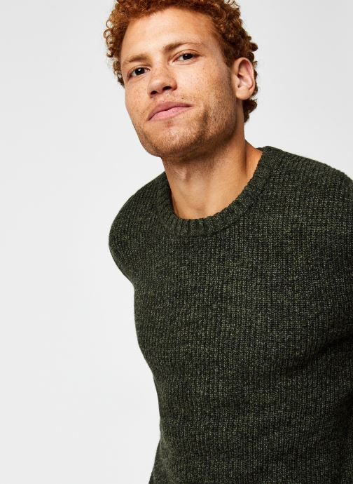 Vêtements Harris Wilson Pull Albi Vert vue face