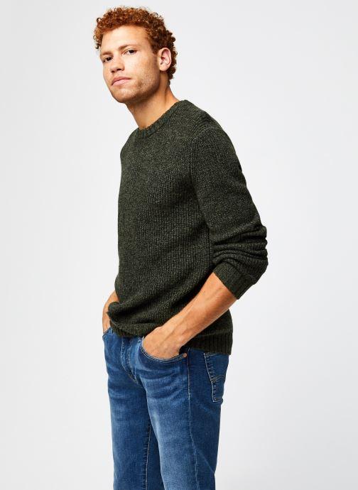 Vêtements Harris Wilson Pull Albi Vert vue détail/paire