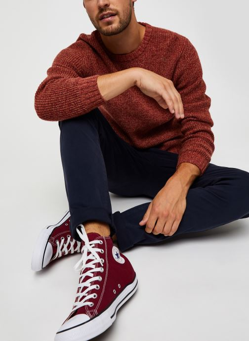 Vêtements Harris Wilson Pull Albi Rouge vue bas / vue portée sac