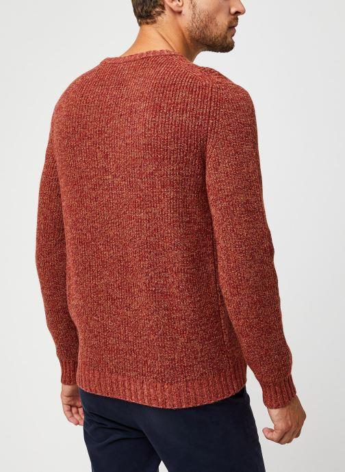Vêtements Harris Wilson Pull Albi Rouge vue portées chaussures