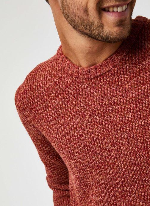 Vêtements Harris Wilson Pull Albi Rouge vue face