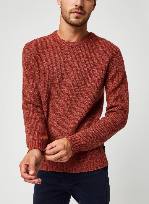 Vêtements Harris Wilson Pull Albi Rouge vue droite