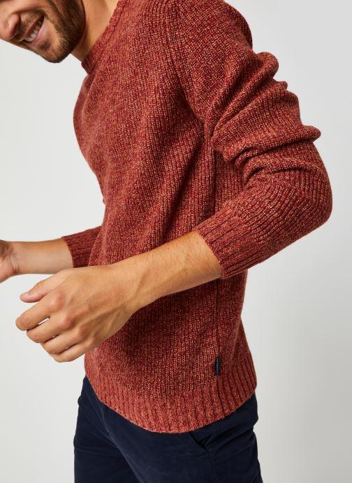 Vêtements Harris Wilson Pull Albi Rouge vue détail/paire