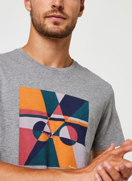 Kleding Harris Wilson Tee-shirt Carl Grijs voorkant