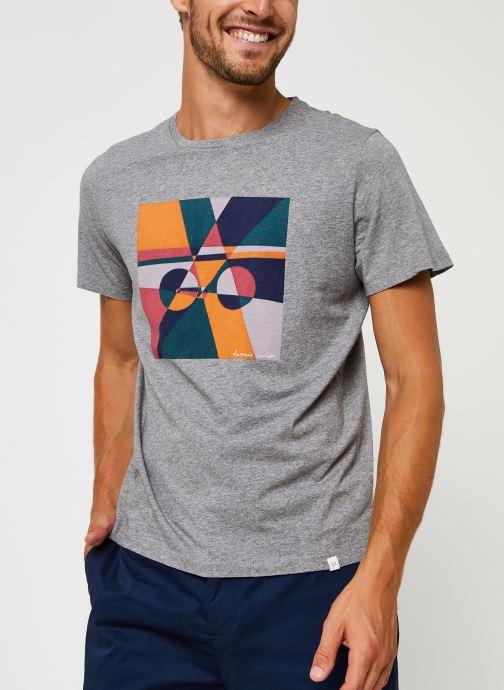 Kleding Harris Wilson Tee-shirt Carl Grijs rechts