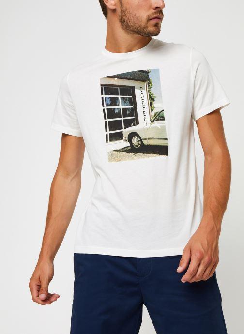 Kleding Harris Wilson Tee-shirt Carlito Wit rechts