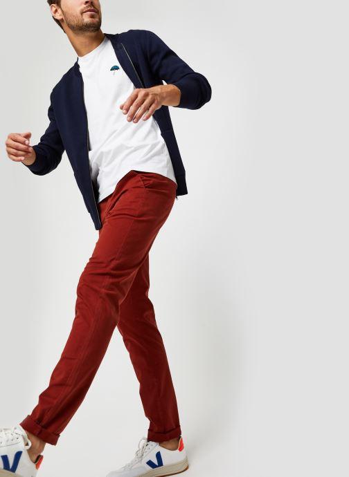 Vêtements Harris Wilson Pantalon Tulio Bordeaux vue bas / vue portée sac
