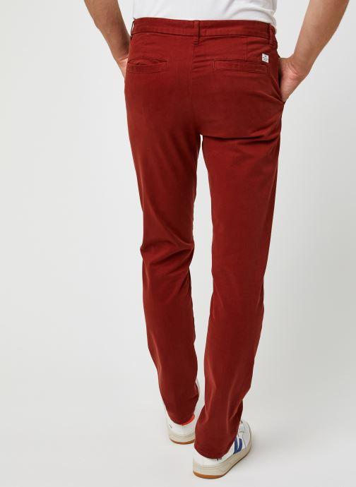 Vêtements Harris Wilson Pantalon Tulio Bordeaux vue portées chaussures