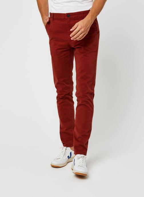Vêtements Harris Wilson Pantalon Tulio Bordeaux vue détail/paire