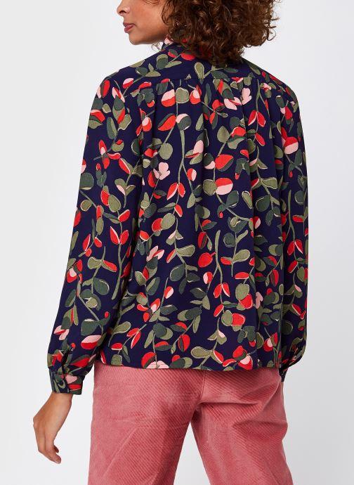 Vêtements Harris Wilson Madie Bleu vue portées chaussures