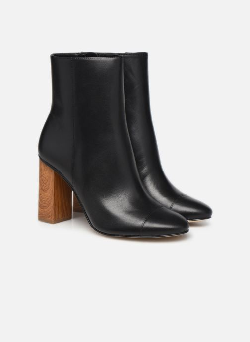 Bottines et boots Michael Michael Kors PETRA  TOE CAP BOOTIE Noir vue 3/4