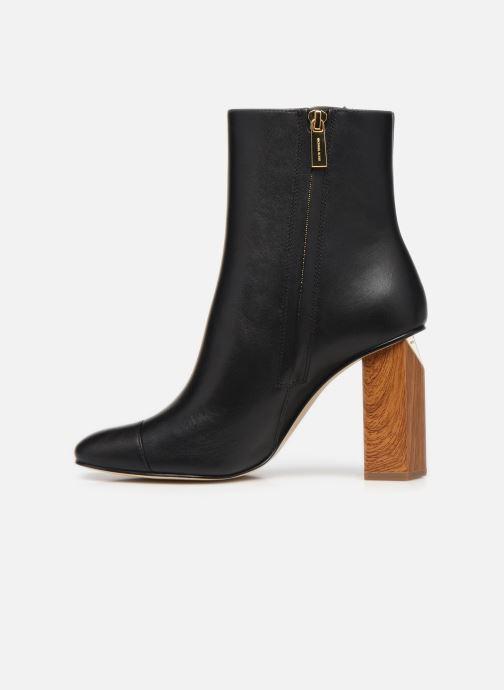 Bottines et boots Michael Michael Kors PETRA  TOE CAP BOOTIE Noir vue face