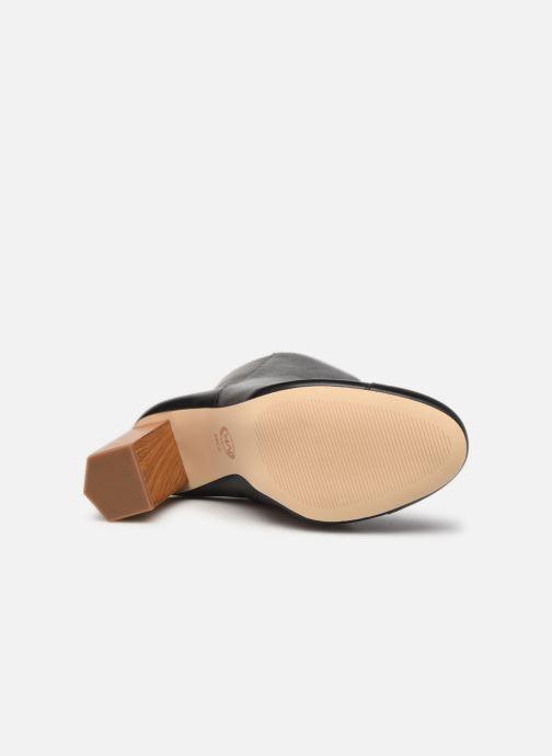Bottines et boots Michael Michael Kors PETRA  TOE CAP BOOTIE Noir vue haut