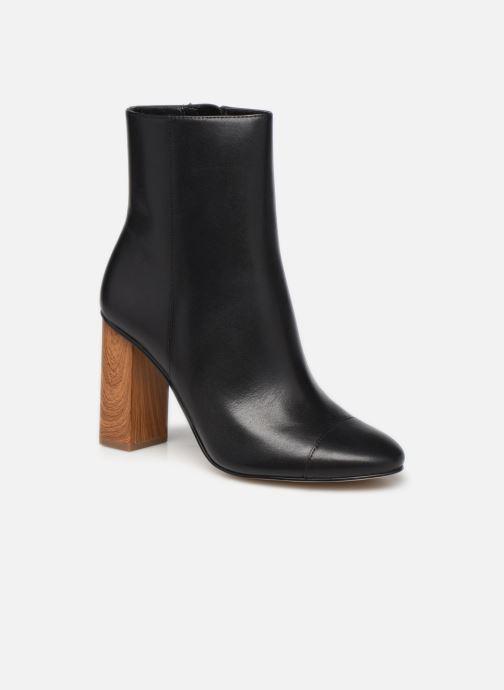 Bottines et boots Michael Michael Kors PETRA  TOE CAP BOOTIE Noir vue détail/paire