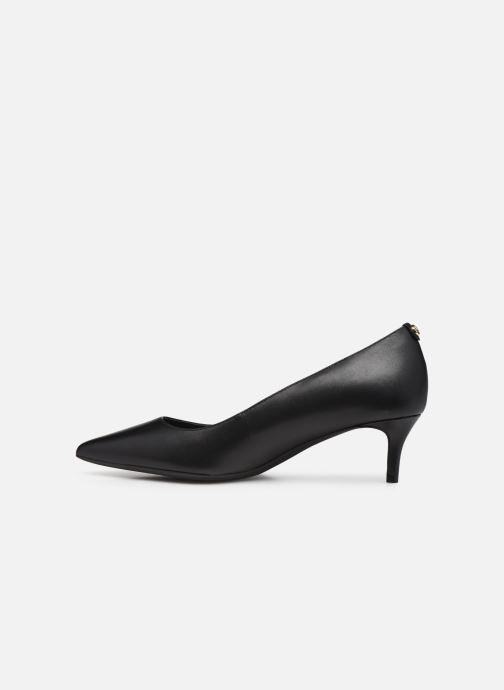 Zapatos de tacón Michael Michael Kors SARA  FLEX KITTEN PUMP Negro vista de frente